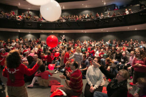 Our Charity Christmas Show, Rose Theatre Kingston – 700 people singing and signing together!