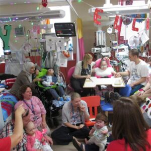 Singing and signing in PICU at Birmingham Children's Hospital