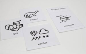 Incorporating Makaton Symbols for 'Topic of the Week'