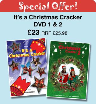 MPM23211  Its a Christmas Cracker DVD 12  Singing Hands