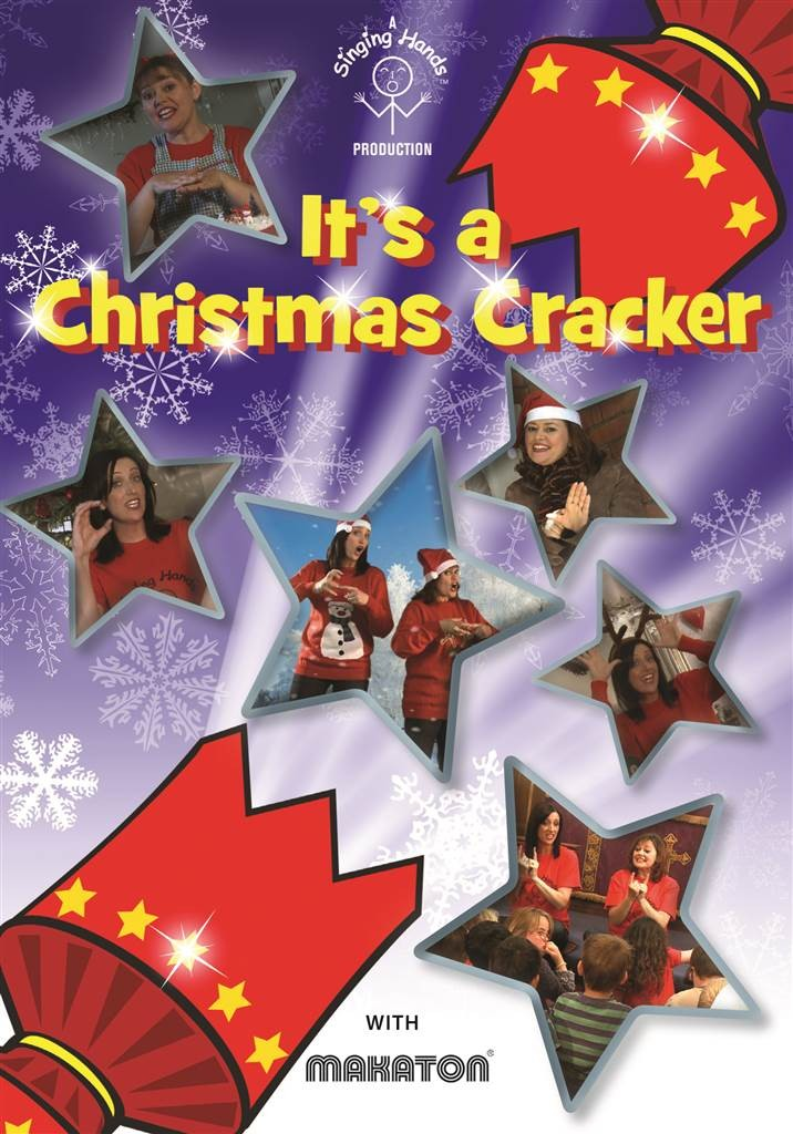 Christmas Singin.Singing Hands It S A Christmas Cracker Dvd With Makaton