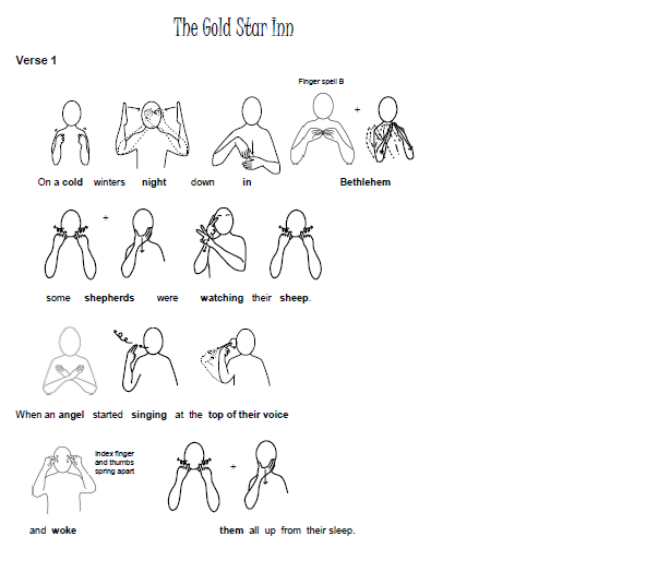 The Gold Star Inn A Nativity Musical With Makaton