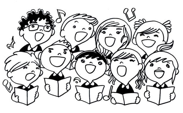 Malvorlagen Singende Kinder Malvorlagencr